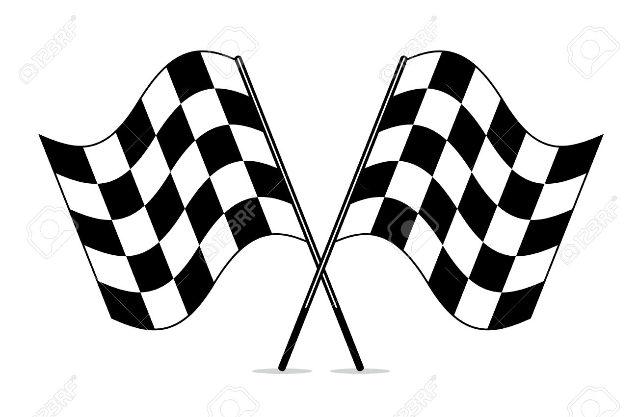 Racing clipart proud Racing clipart flag Checkered trophy