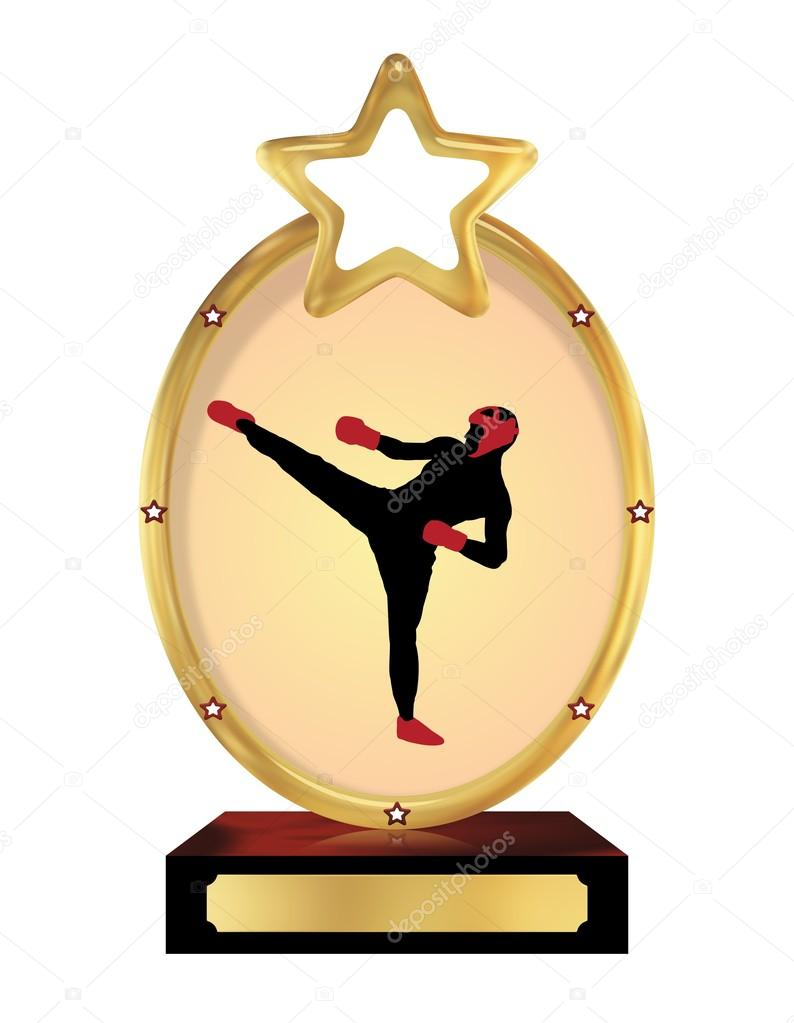 Trophy clipart karate Photo boxing #8685558 boxing #8685558