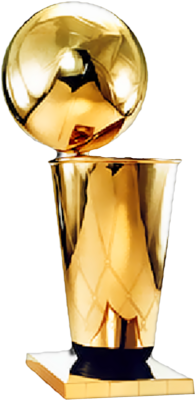 Trophy clipart nba champion Trophy Official PSD  NBA