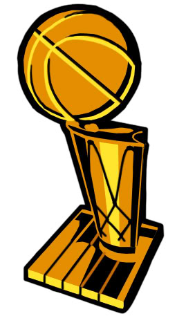 Trophy clipart nba champion Basketball Trophy Nets Brooklyn Cliparts