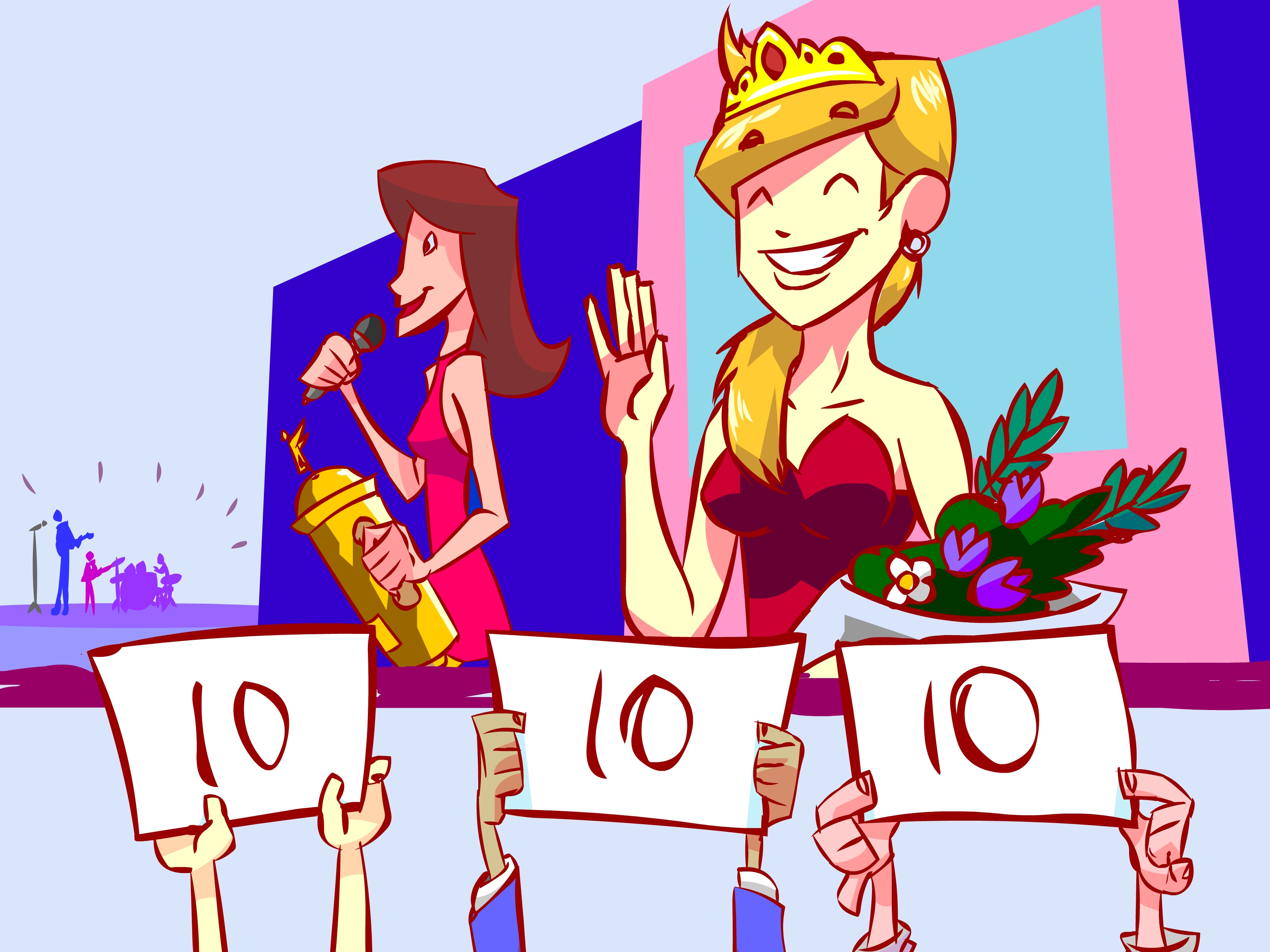 Trophy clipart pageant WikiHow Pictures) How Form to