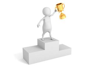 Trophy clipart person