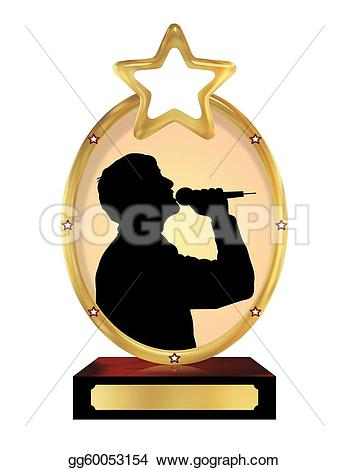 Trophy clipart person Of of isolated person gg60053154
