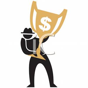 Trophy clipart person Trophy Trophy Free For a