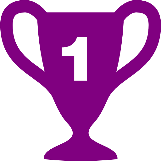 Trophy clipart purple Download purple trophy icon purple