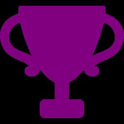 Trophy clipart purple Icon Free purple trophy icon