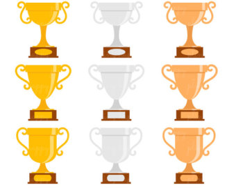 Gymnastics clipart trophy & OFF Use Trophies Personal