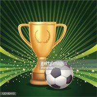 Trophy clipart soccer trophy Trophies Soccer soccer Clipart vectors