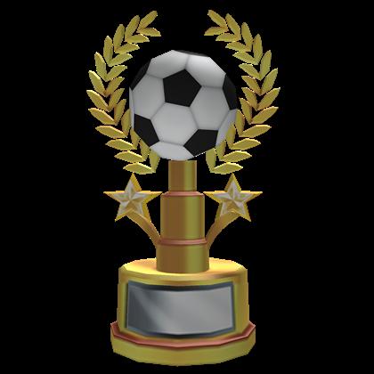 Trophy clipart soccer trophy Soccer Trophy Golden ROBLOX Trophy