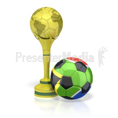 Trophy clipart soccer world cup Soccer PowerPoint Africa and with