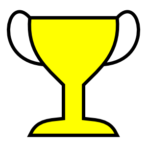 Yellow clipart trophy Football Cliparts Trophy Clip Championship