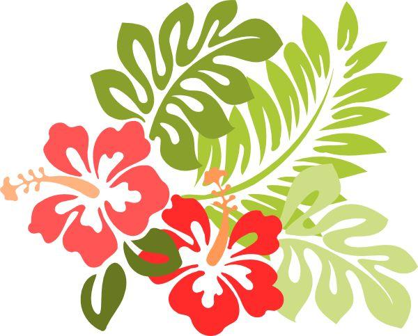 Yellow Flower clipart hawaii flower Illustration hawaiian jungle clip free