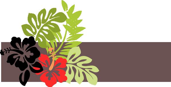Tropical clipart green flower #8