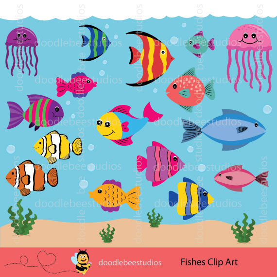 Tropical Fish clipart different fish #2
