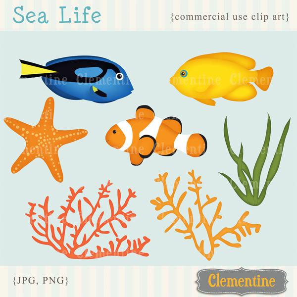 Tropical Fish clipart nemo fish #9