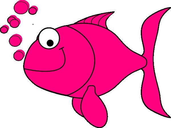 Tropical Fish clipart pink fish #3