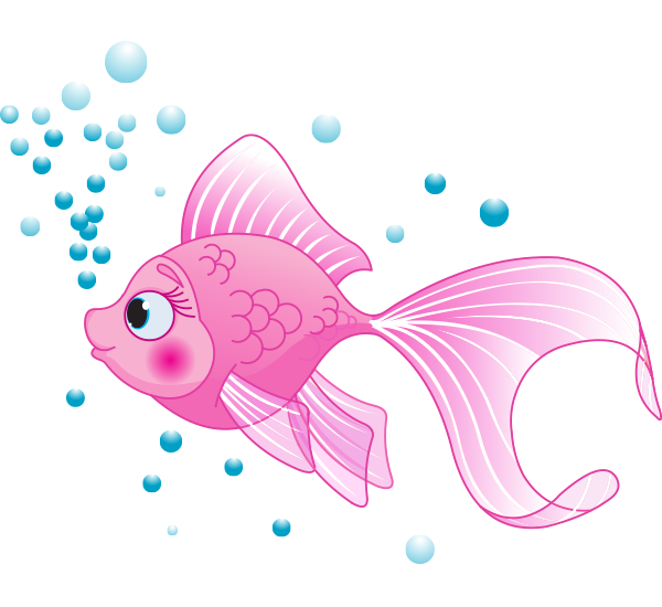 Tropical Fish clipart pink fish #7