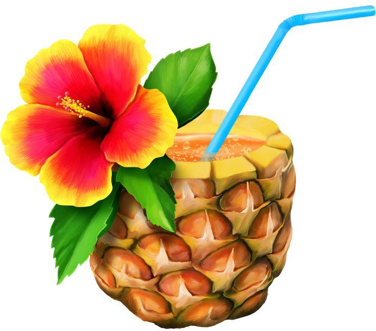 Pineapple clipart hawaiian Images Pinterest TROPICAL best HAWAIIAN