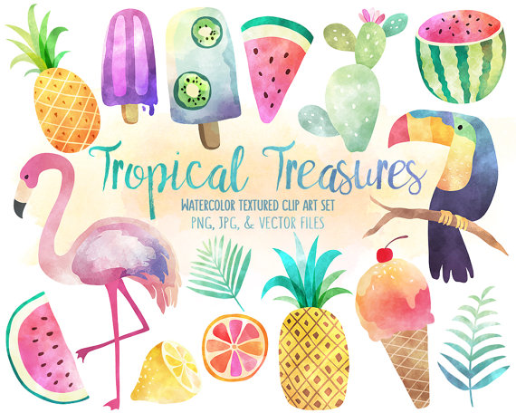 Water Color clipart watercolour From Clip KennaSatoDesigns Set Clipart