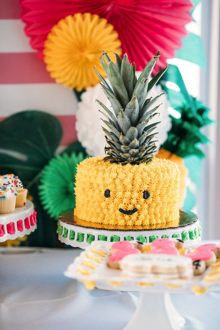 Tropics clipart birthday cake #4