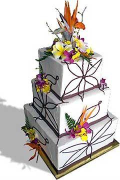 Tropics clipart birthday cake #5