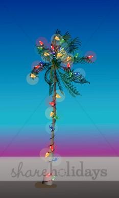 Tropics clipart christmas tree #2