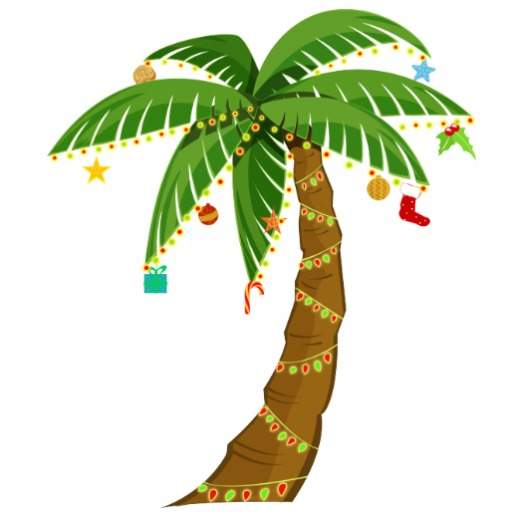 Tropics clipart christmas tree #1
