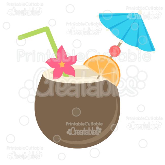 Tropics clipart coconut drink #4