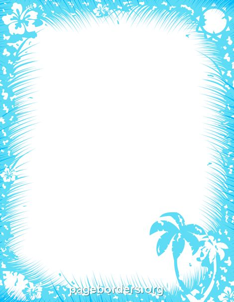 Tropics clipart frame #7