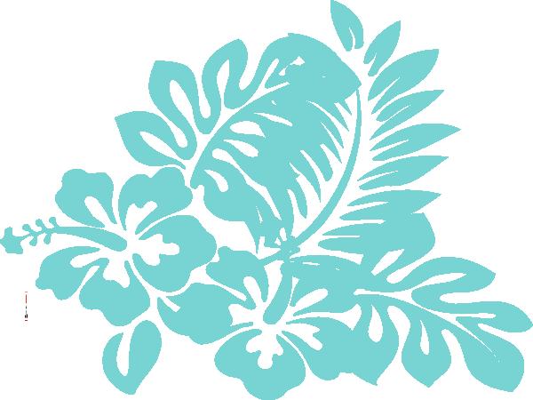 Tropical clipart green flower #4