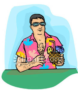 Tropical clipart hawaiian person #5