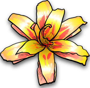 Yellow Flower clipart tropical flower Flowers Panda Clipart Clipart Clipart