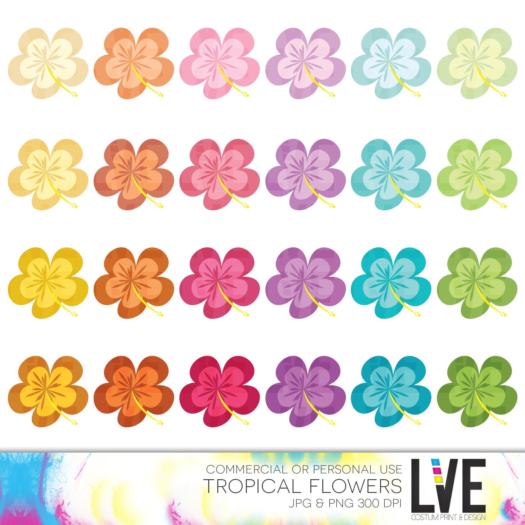Tropics clipart lei flower #7
