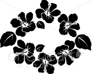 Tropics clipart lei flower #6