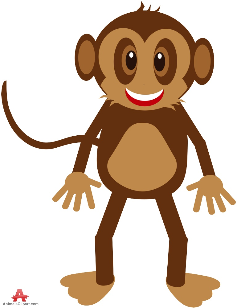 Baboon clipart happy monkey Clipart keywords the with tropical