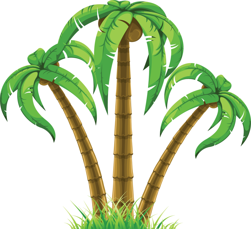 Wilderness clipart group tree Palm tree tree art palm