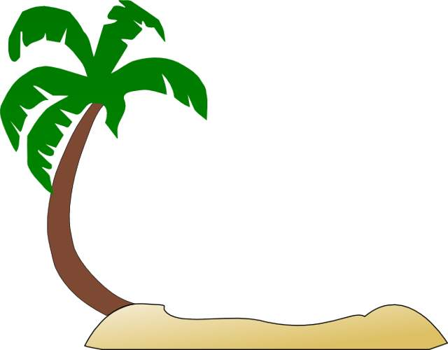 Christmas Tree clipart palm tree Clip tropical art  trees
