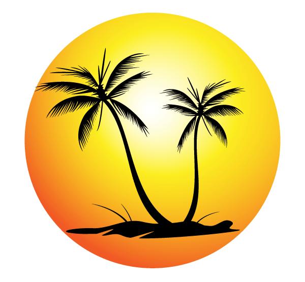 Palm Tree clipart beach theme Art Trees Library Palm Beach