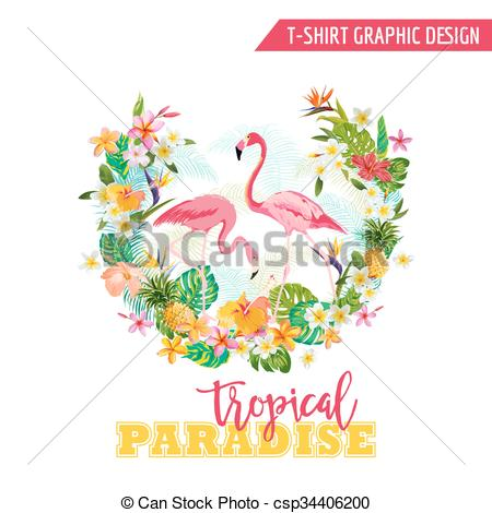 Shirt clipart tropical Tropical Clip vector Art Vector