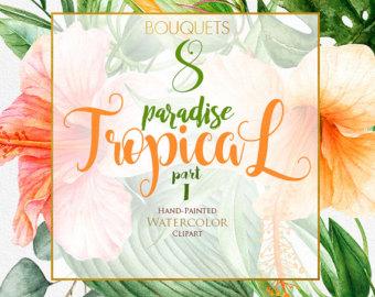 Tropics clipart tropical leaf #12