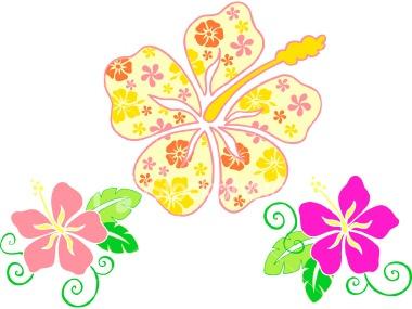 Tropics clipart yellow hibiscus #7