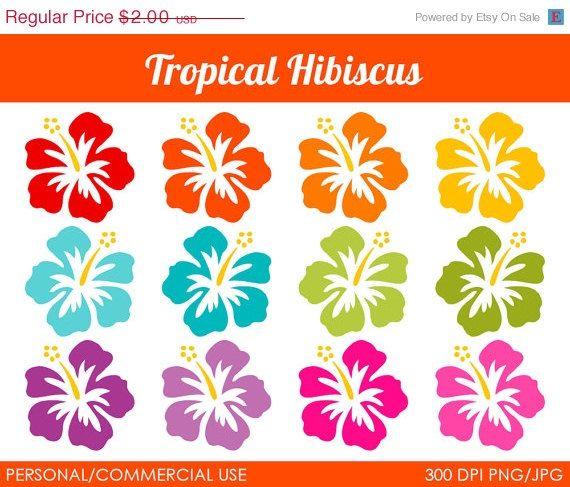 Tropics clipart yellow hibiscus #3