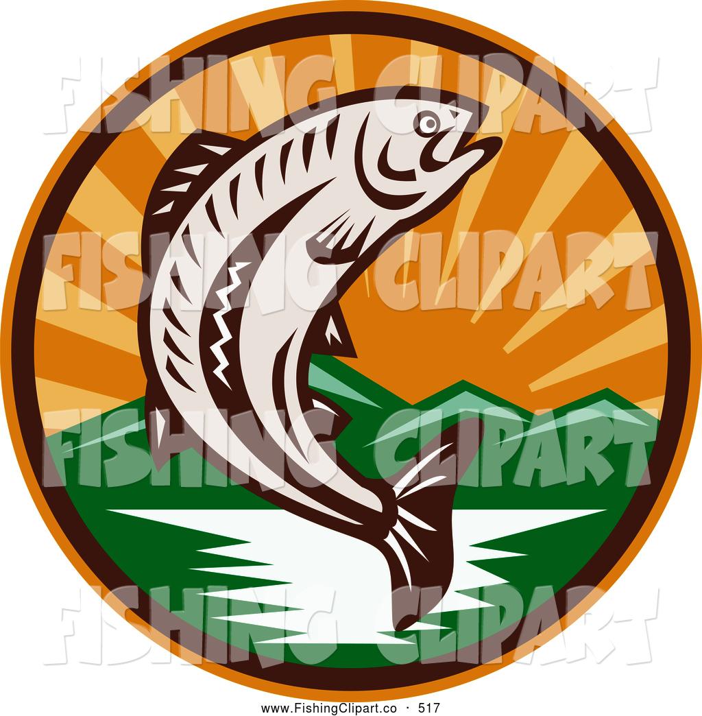 Trout clipart river fish #4