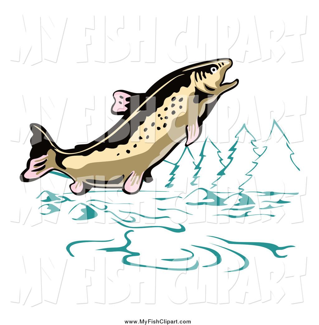 Trout clipart river fish #2