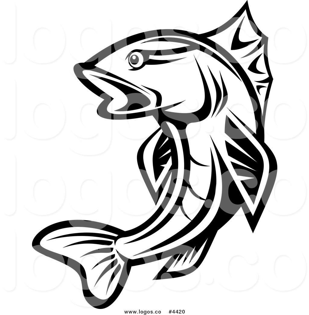 Trout clipart walleye #6