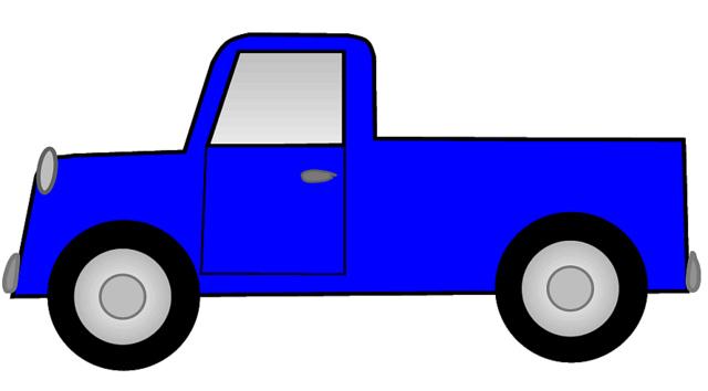 Truck clipart #11