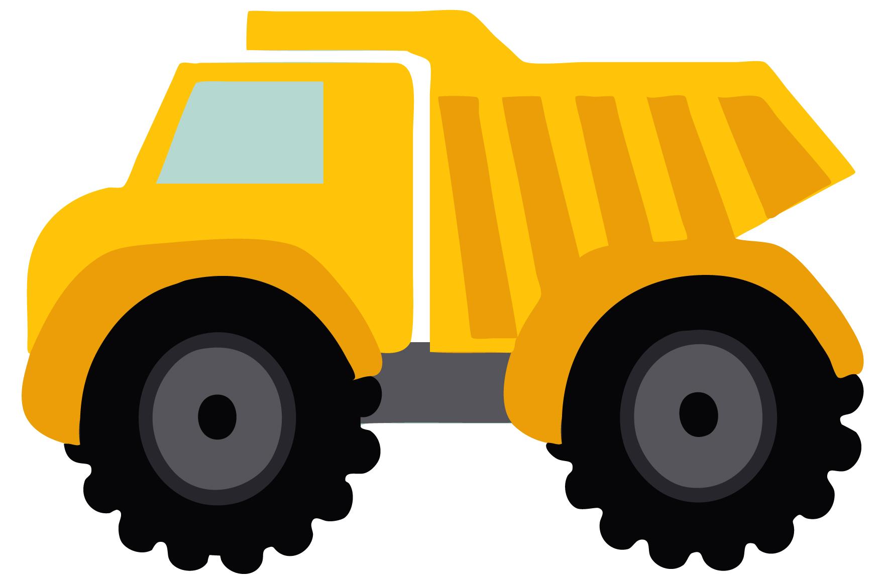 Cute clipart truck Dump truck / EYFS ClipArt