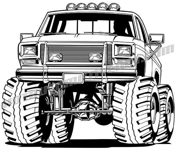 Truck clipart 4x4 truck Club mud Google  Search