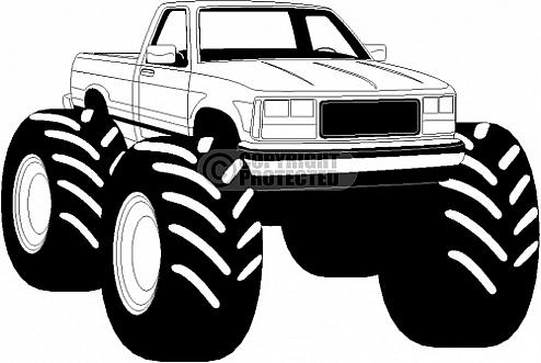 Truck clipart 4x4 truck Images Monster Art Free Clipart