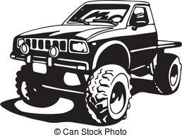 Truck clipart 4x4 truck Art Truck 4x4  4x4
